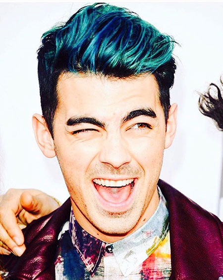 Guy with Blue Hair, Blue Criss Malik Jonas