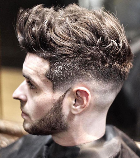 Hairtyle for Men with Thick Hair, Fade Hairtyles Hair Full
