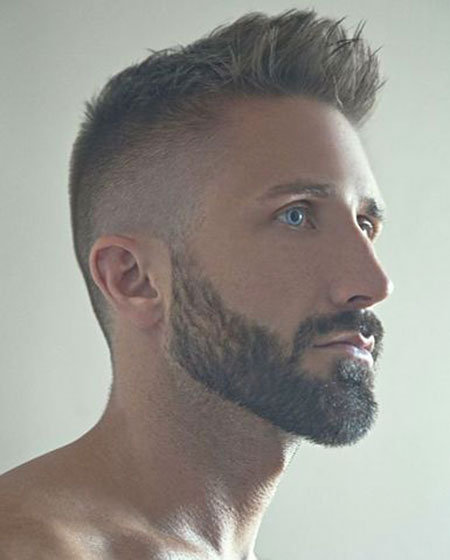 Beard Style for Men with Short Hair, Beard Hair Styles Ten