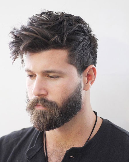 Mens Hairtyle for 2018, Hairtyles Hair Styles Beard