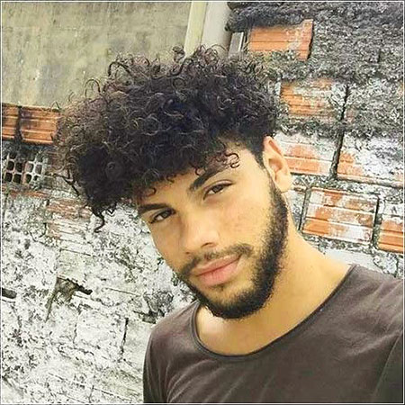 Mens Curly Hairtyles Type