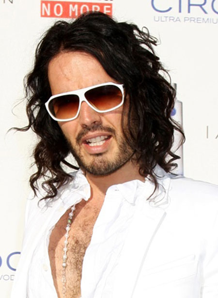 Long Wavy Russell Brand