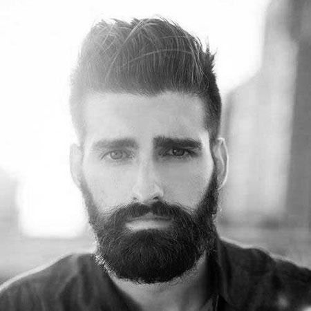 Styles Beard Thick Hair