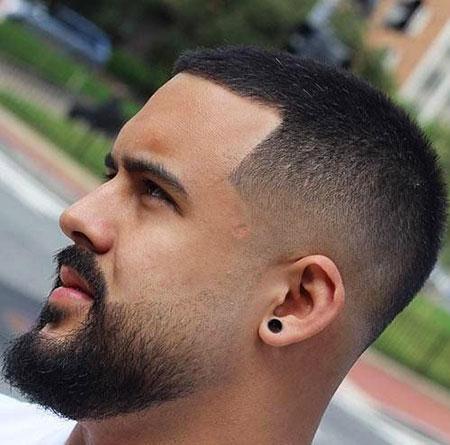 Fade Hair Short Beard