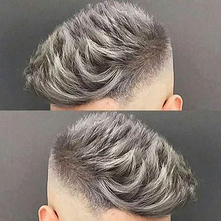 Gray Grey Colour Pixie