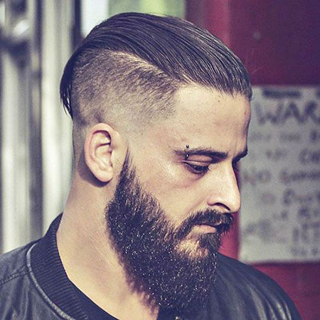 Beard Fade Back Styles