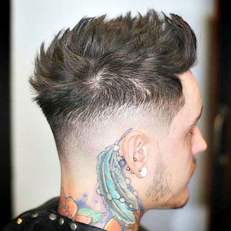 Fade Taper High Quiff