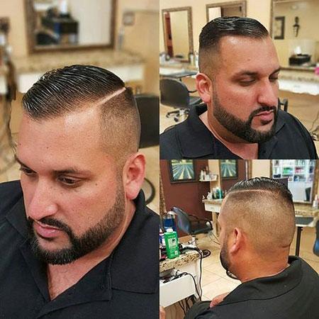 Hair Side Shaved Balding