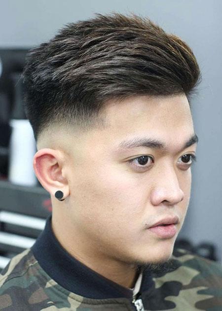 Hair Asian Top Wild