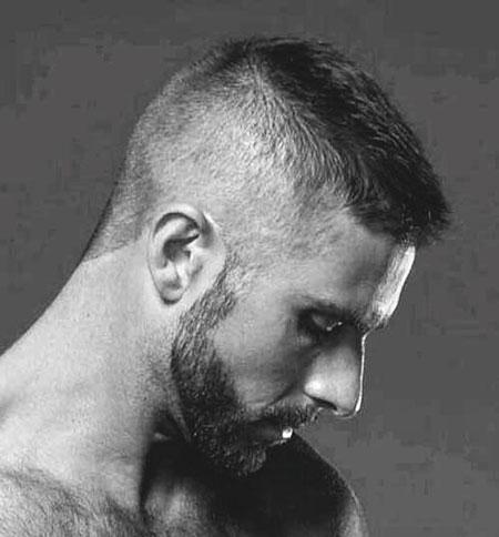 Short Styles Beard Hair