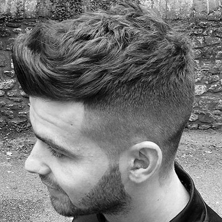 Hairtyles Fade Hair Top