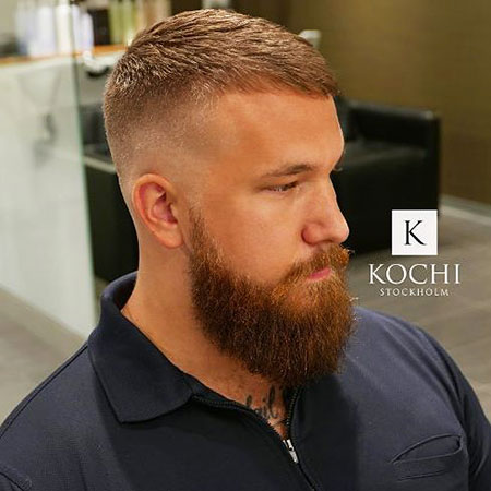 Beard Short Hair Styles
