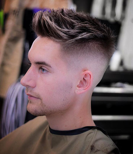 20 Mens Hairstyles Shaved Sides