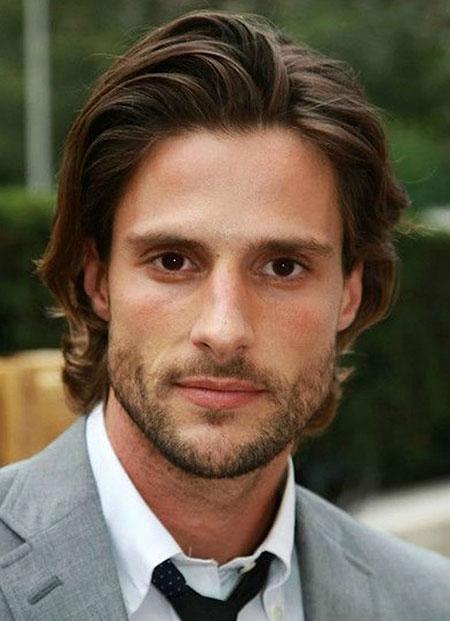 Dark Brown Medium Hair, Length Medium Jamie Bradley