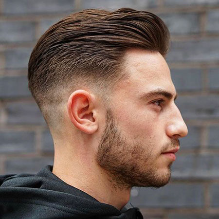Fade Cut Mid Back, Fade Mid Back Short