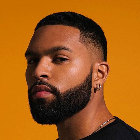 Black Bearded Men Fade