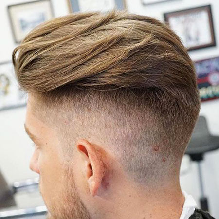 Hair Undercut Fade Back