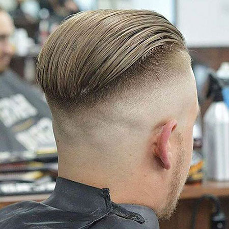 Fade Hair Back Undercut