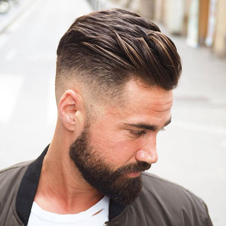 Mens Cool Hairtyle, Fade Hairtyles Low Hair