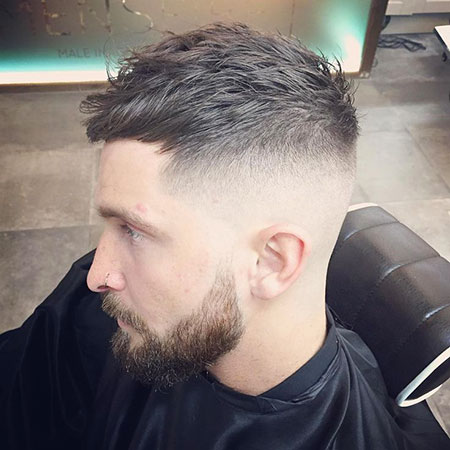 Shaved Sides, Fade Hair Short Haircuts