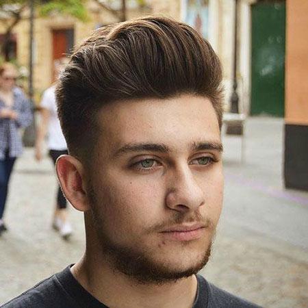 High Fade Hair, Face Round Haircuts Hairtyles