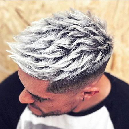Silver Hair, Pixie Gray Silver Short