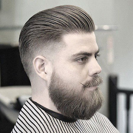 Back Fade Styles Beard