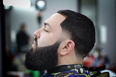 Mens Full Beard Hairtyles