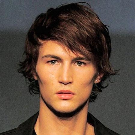 Medium Hair Boy Hairtyles