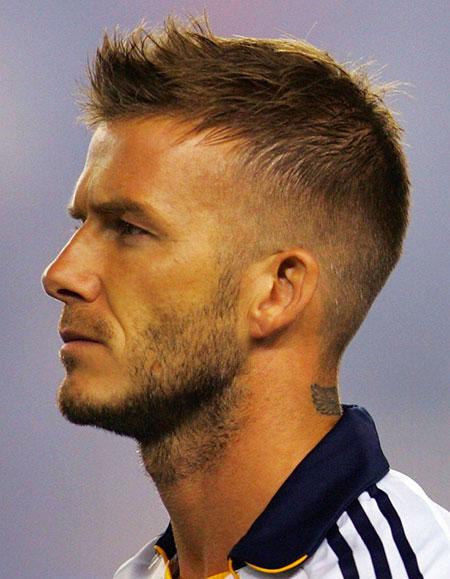 Short Beckham David Haircuts
