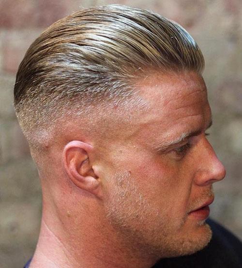 Mens Slicked Back Hairstyles