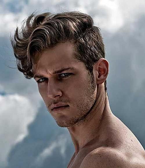 20 Exquisite Wavy Hair Men In 2020 Mens Hairstyles 2020