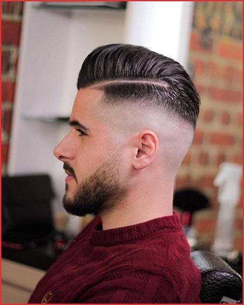 Mens Hair Slicked Back