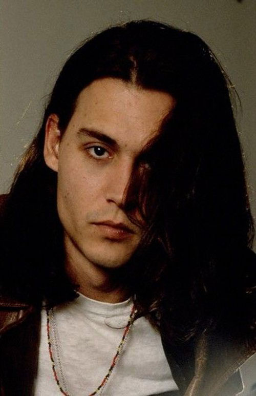 Johnny Depp Long Hairstyle
