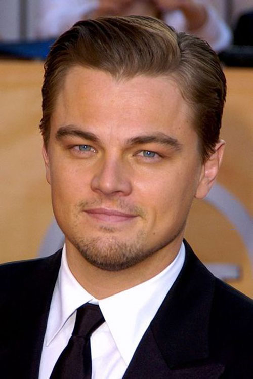 Leonardo Dicaprio Titanic Hairstyle