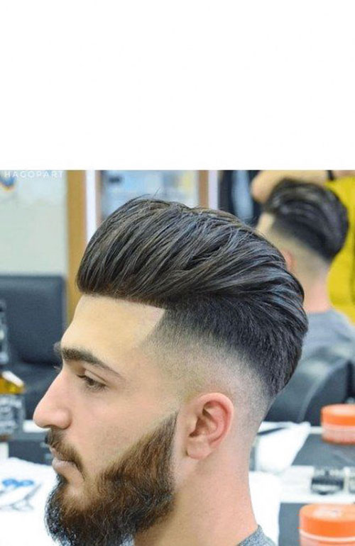 Mens Slick Back Undercut