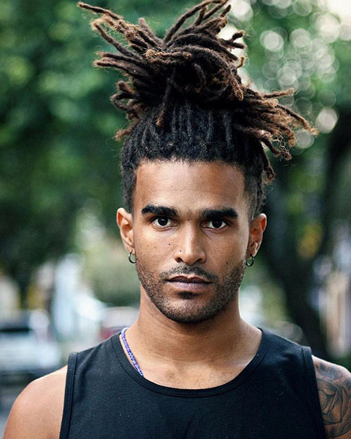 Dread Updos For Guys