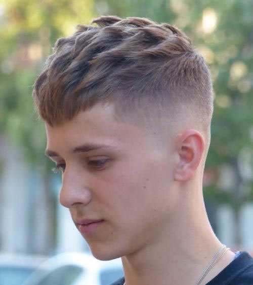 In Style Haircuts For Teenage Guys