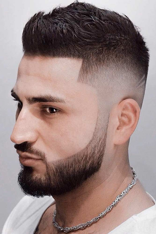 Textured Ivy League Haircut