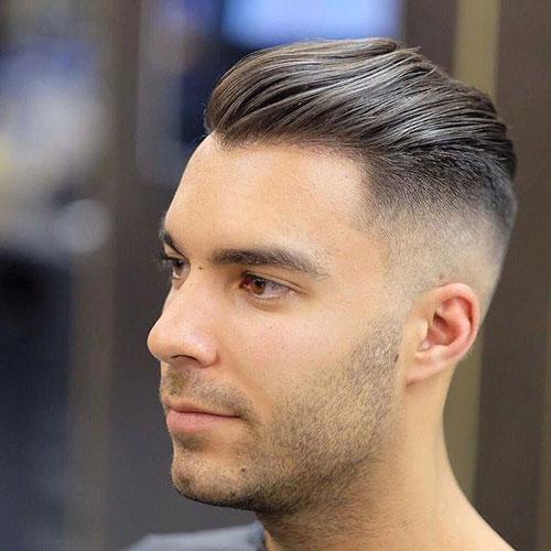 Slicked Back Hairstyles Female