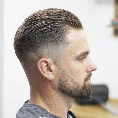 Mens Slicked Back Haircut